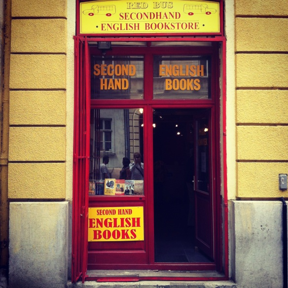 Dream palace - Little Red Bus Bookstore in Budapest