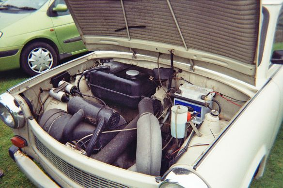 Power outage - The Trabant's two-stroke engine