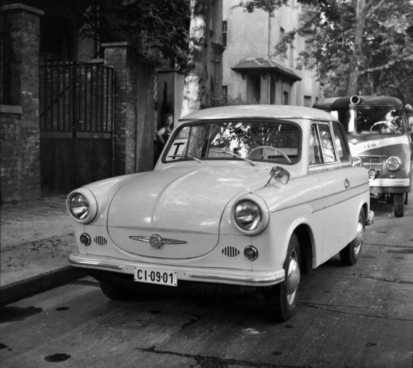 Ready for action - Trabant 601 was the most popular model