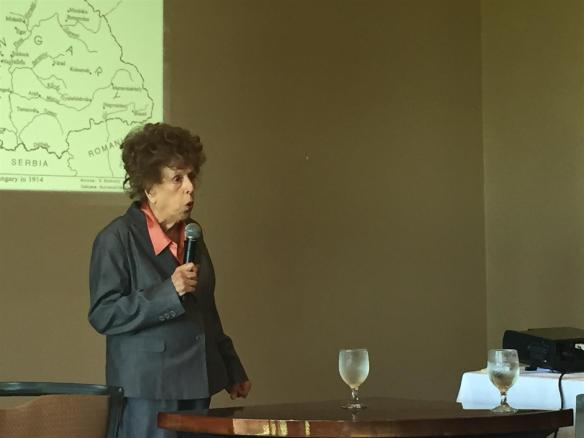 Zsuzanna Ozsvath - Holocaust survivor