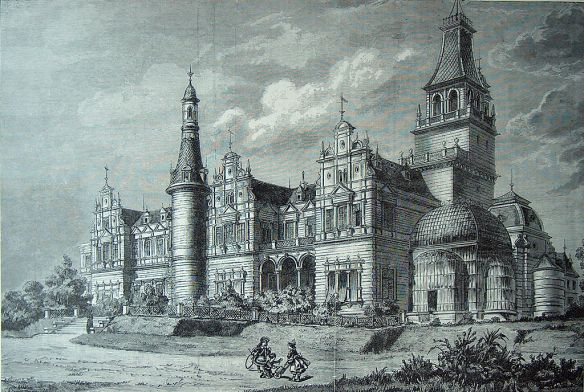 A fantastical reality - Wenckheim Palace in the late 19th century
