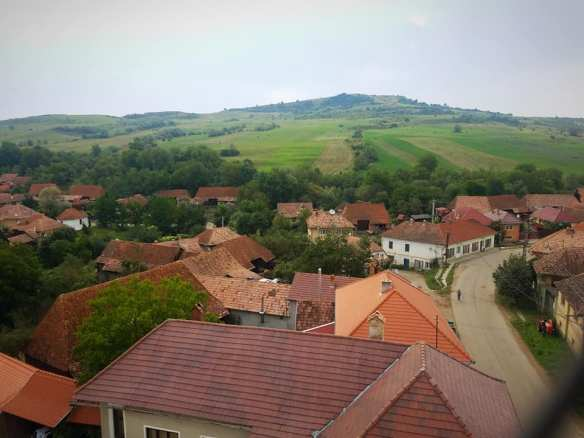 A Little Bit Of Heaven - View over the village of Szekelydersz (Darjiu, Romania)