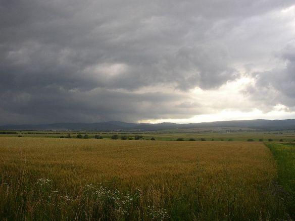 Clouds on the horizon - Szekely Land