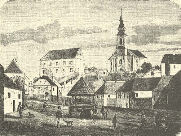 For what they dream of - Szekelyudvarhely in 1868