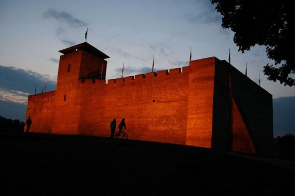 Ghosts of the past - Gyula Castle at twilight