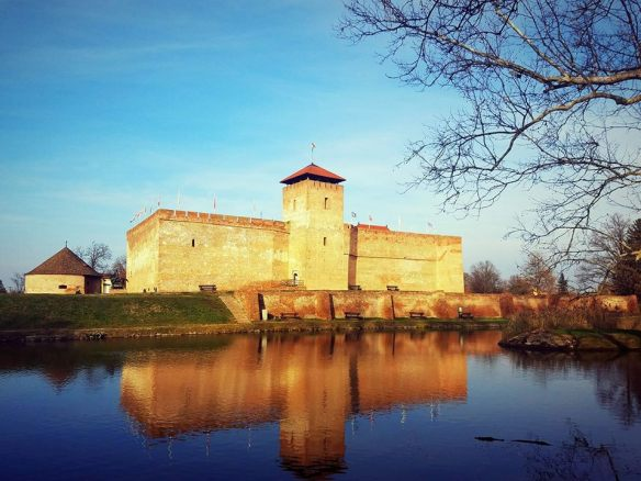Reflective qualities - Gyula Castle