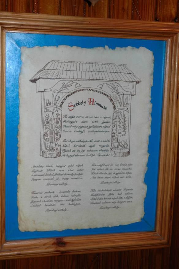 The Writing On The Wall - Szekely Himnusz (Szekely National Anthem)