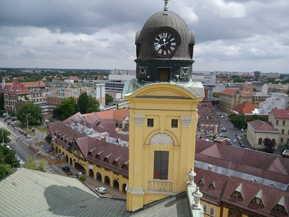 Bastion of beauty - Eastern tower of the Great Reformed Church in Debrecen