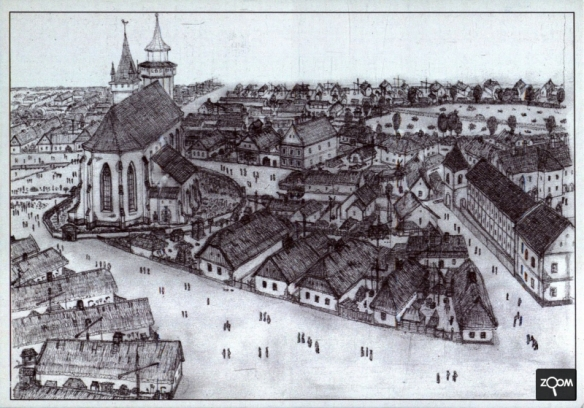 Before the Great Fire - Debrecen in 1802