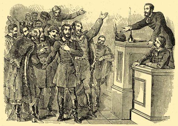 Kossuth makes his case - Declaring independence