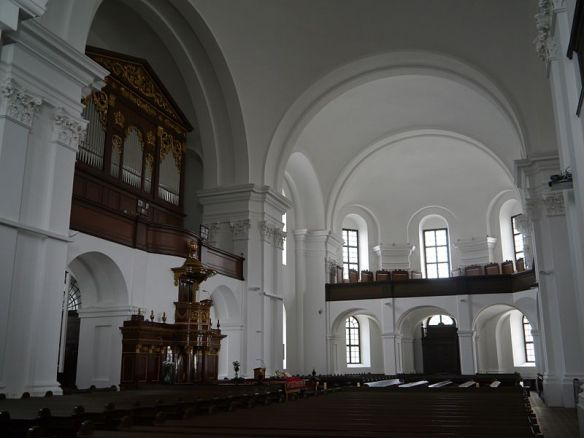 Silence on the inside - Interior of the Great Reformed Church in Debrecen