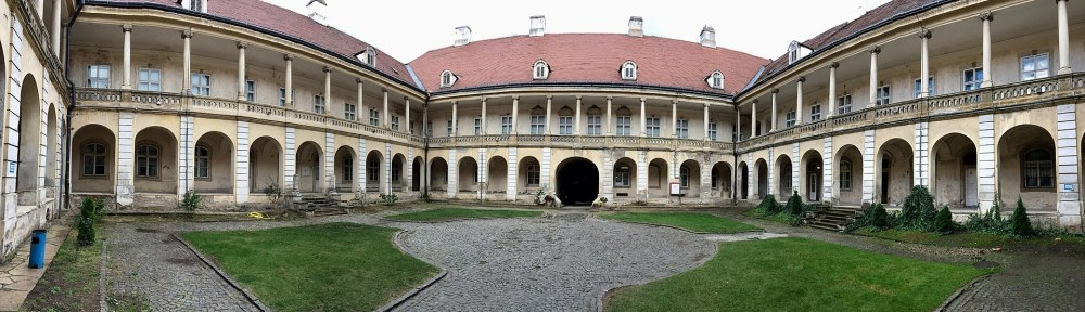 Changing Spaces - Courtyard of the Banffy Palace Art Museum of Cluj