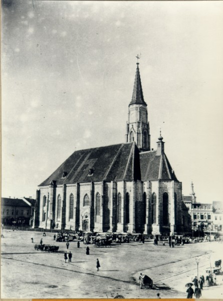 Soaring Towards Another Century - St. Michael's Church in Kolozsvar in 1898