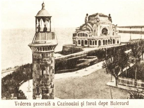 A Fresh Light On The Waterfront - View of the Genoese Lighthouse & Constanta Casino