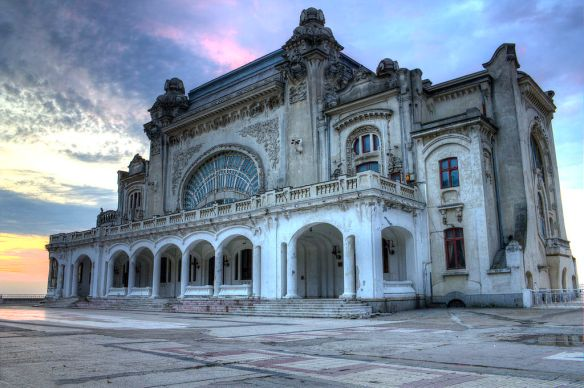 Just after sunrise - Constanta Casino
