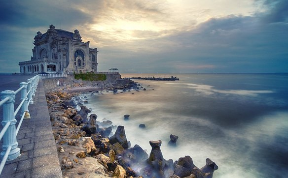 On the edge of a deep Black Sea - Constanta Casino
