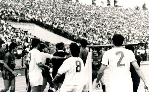 The Moment of Decision - Controversy defeats all comers in the 1988 Romanian Cup Final