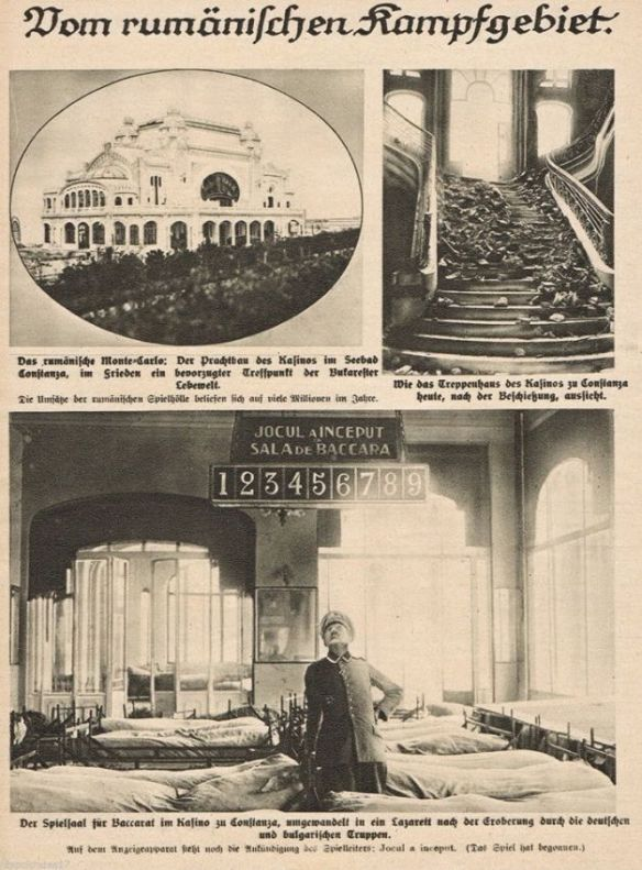 The necessities of war - Constanta Casino as a hospital during World War I