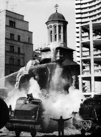 Willful Destruction - Demolition of Enei Church in Bucharest