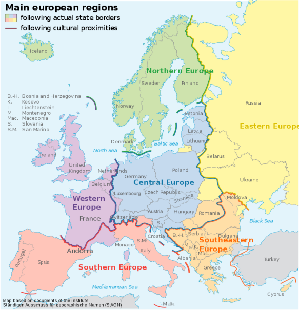 Central To Europe - The Czech Republic & Mitteleuropa