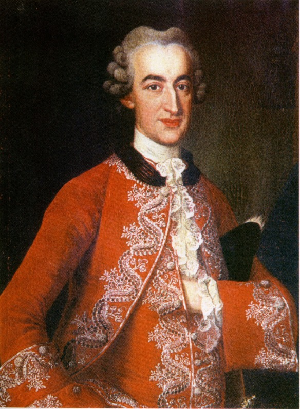 Chancellor of Transylvania - Count Samuel Teleki De Szek