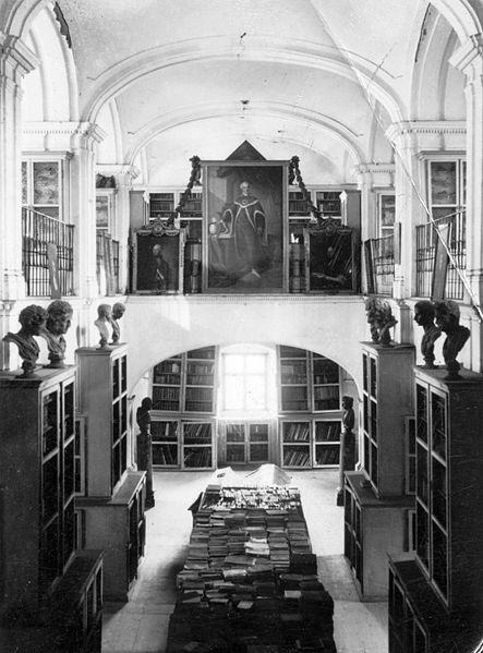 Life of the Mind - Teleki-Bolyai Library in 1941