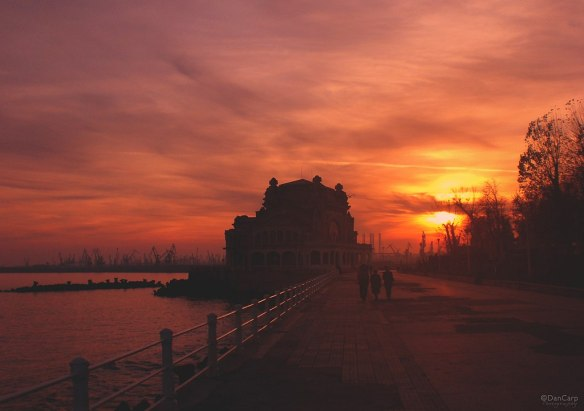 At Sunset - Constanta Casino
