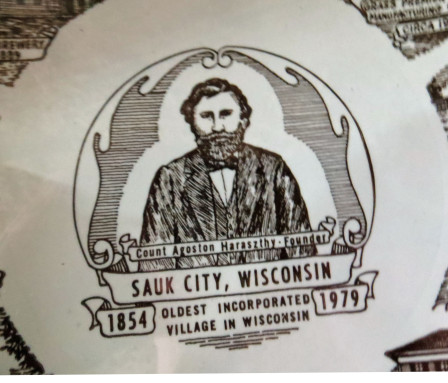 Town Builder - Agoston Haraszthy the founder of Sauk Center, Wisconsin