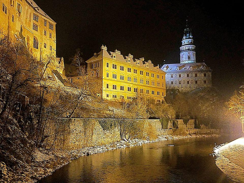 A Winter's Night - Cesky Krumlov
