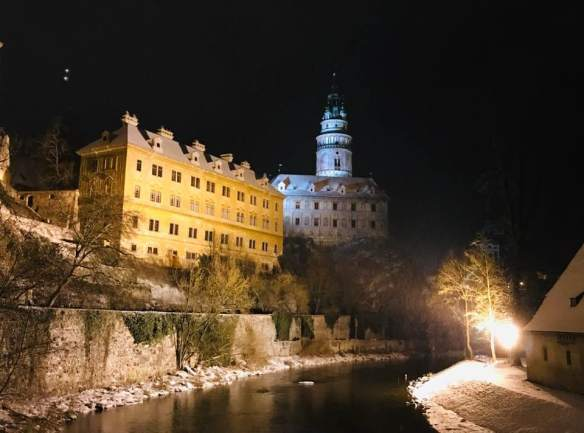 An Eggenberg Legacy - Cesky Krumlov Castle Mint building (on the left)