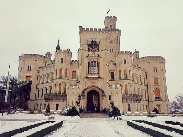 A Miracle In Winter - Hluboka Castle