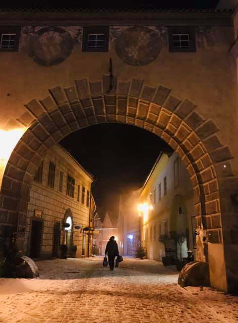 All To Yourself - The joy of a winter visit to Cesky Krumlov