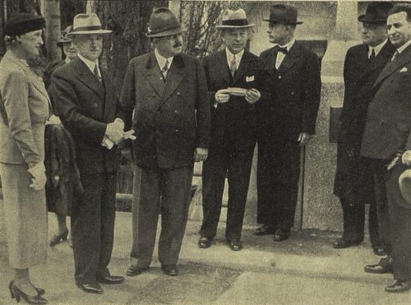 Down Payments - Edvard Benes & Adolf Schwarzenberg at Cesky Krumlov in 1937