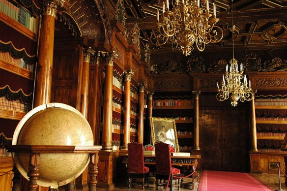 The Haves - Library at Hluboka Castle