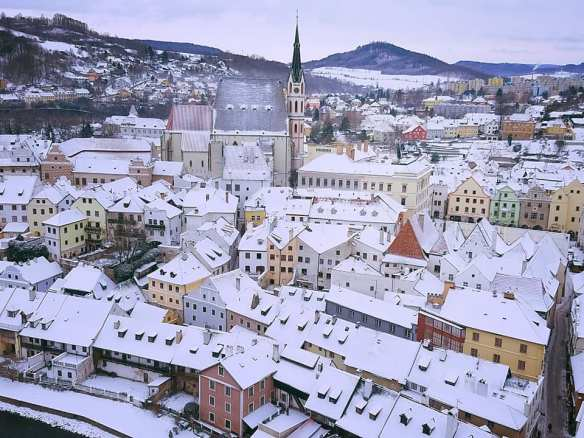 The Off-Season - Cesky Krumlov in the depths of winter