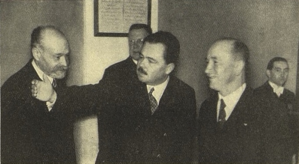 The Resistance - Adolf Schwarzenberg and Edvard Beneš at Cesky Krumlov