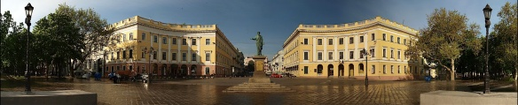 Point of Entry - Duc De Richelieu Statue in Odessa