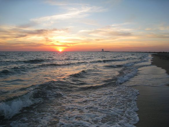 Distant Memory - Sunset on the shores of the Black Sea