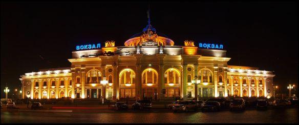 The Uncertain Arrival - Odessa Train Station
