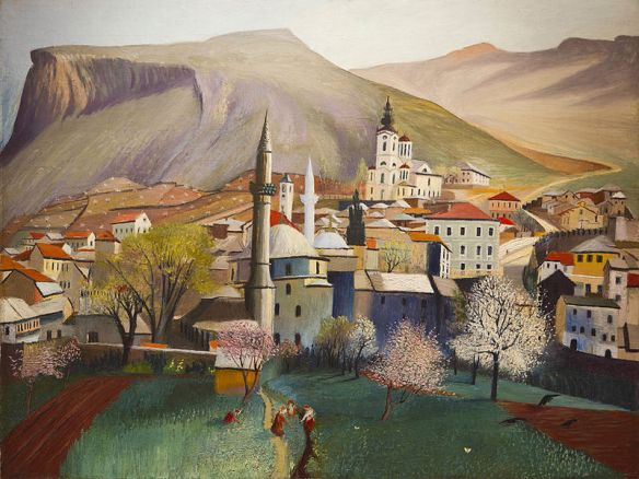 Springtime in Mostar - Csontvary
