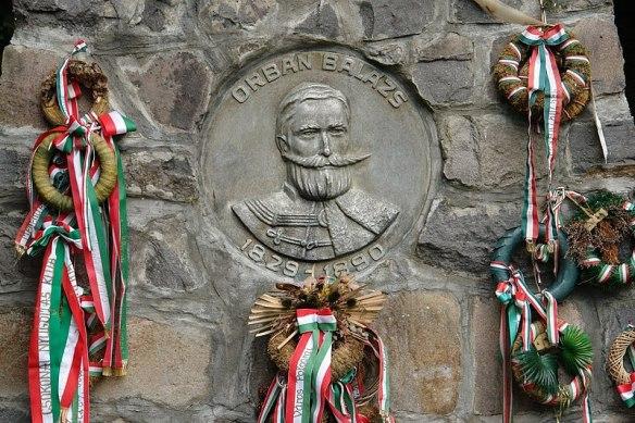 The Greatest Szekely - Balazs Orbans grave in Szejkefurdo (Credit Tamas Thaler)