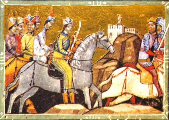 A Mongol Manhunt - Bela IV being pursued by the enemy