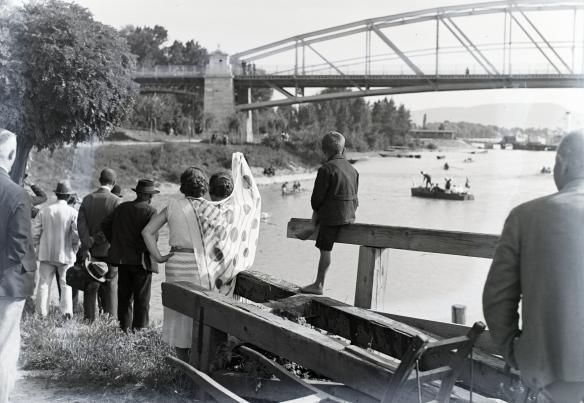 River Watching - Esterzgom in 1934