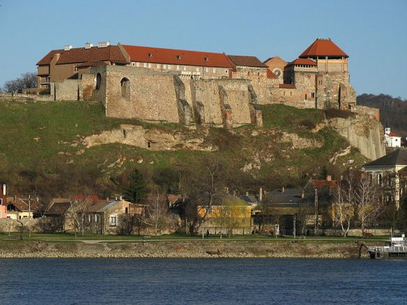 Towering Above All - Esztergom Castle as it looks today