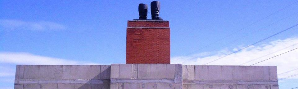 An Arresting Reminder - Stalin's Boots at Memento Park