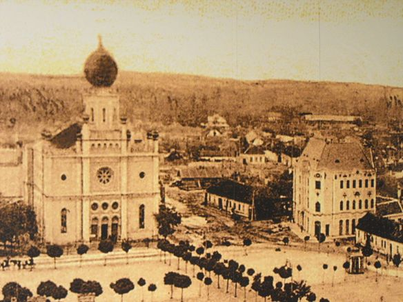Dawning of a New Age - The Synagogue & Cifra Palace in the early 20th century