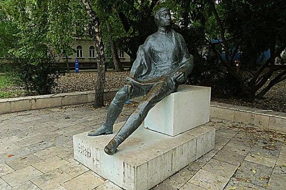 Remember Me When I'm Gone - Jozsef Katona statue in Kecskemet