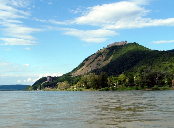 Riverview - Visegrad as seen from the Danube