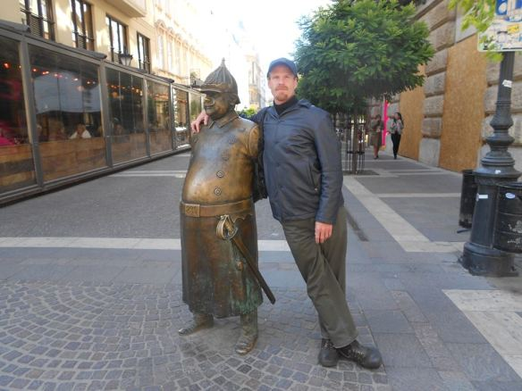 An Old Friend - The Fat Policeman in Budapest