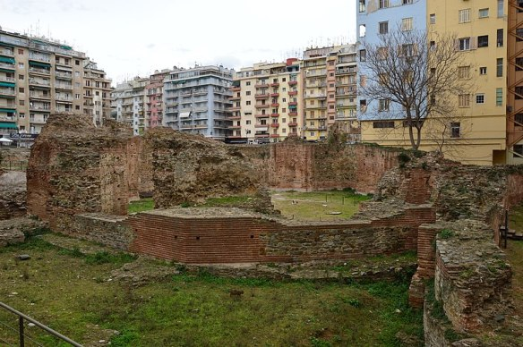 Besieged By Modernity - Roman Ruins in Thessaloniki
